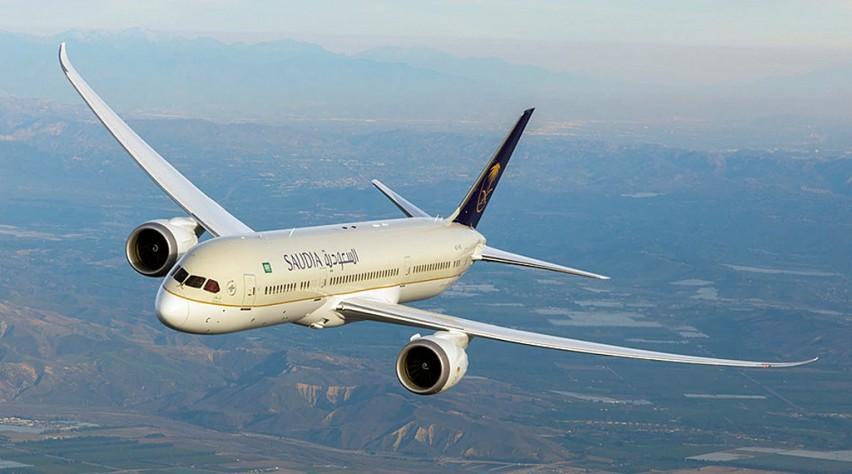 saudi arabian airlines boeing 787 dreamliner