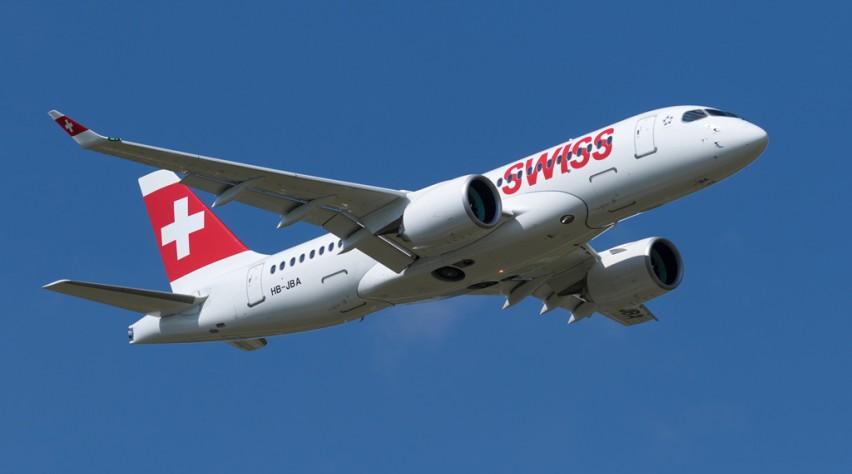 Swiss Bombardier CS100