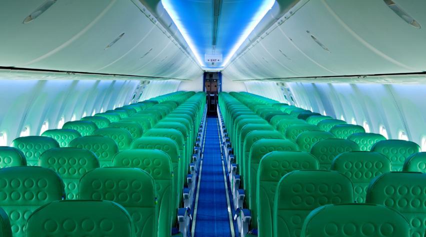 Transavia cabine