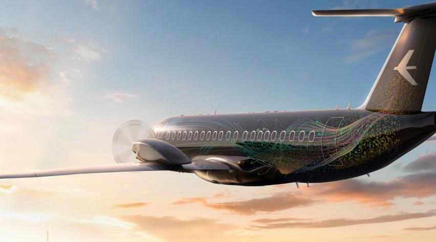 Concept nieuwe turboprop Embraer