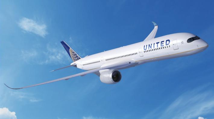 United Airlines Airbus A350-900