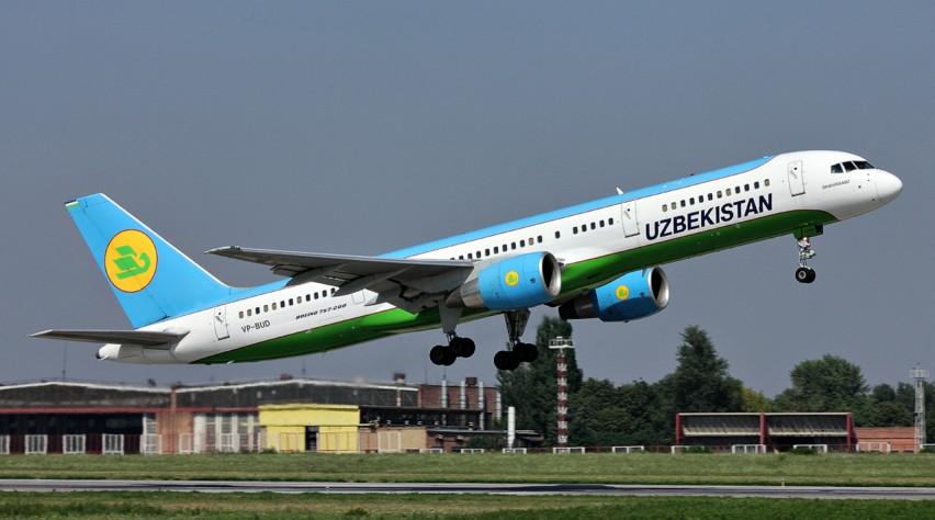 Uzbekistan Airways Boeing 757