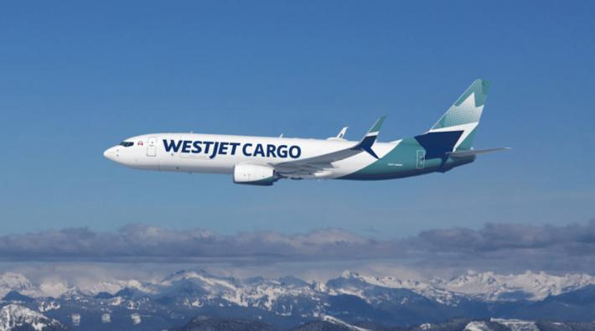 WestJet Boeing 737-800BCF
