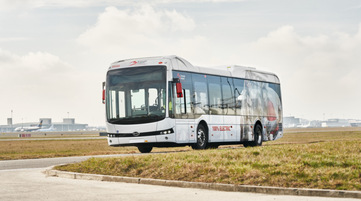 Brussels Airport e-bus
