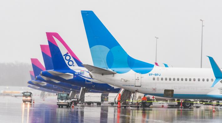Eindhoven Airport Wizz Air Pobeda