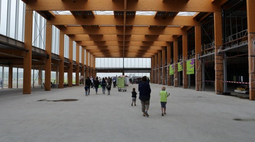 Lelystad Airport aanbouw