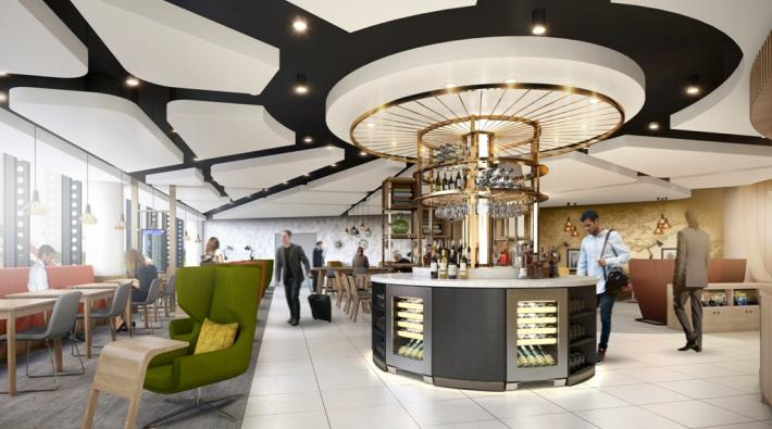 Manchester Airport Lounge