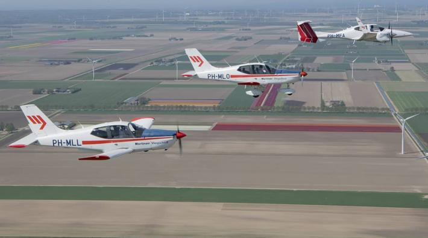 Martinair Flight Academy Lelystad Airport afscheid