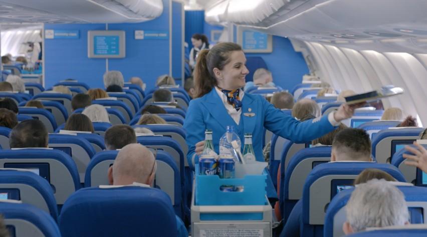 KLM cabine