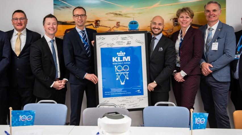 KLM Embraer sim