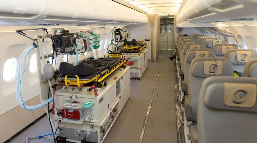 A321 medevac