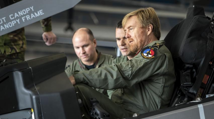 Willem-Alexander F-35
