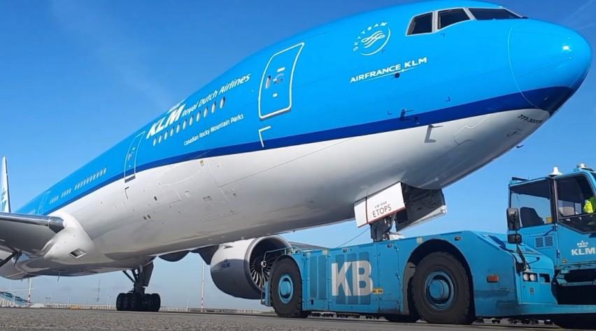PH-BVW eerste vlucht