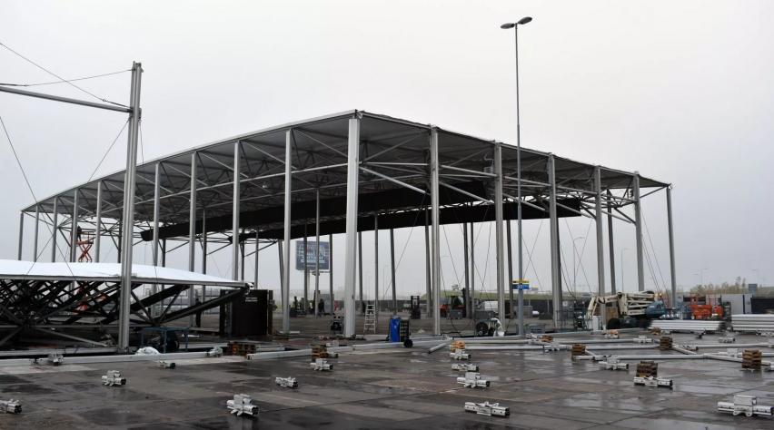 XL Teststraat Schiphol