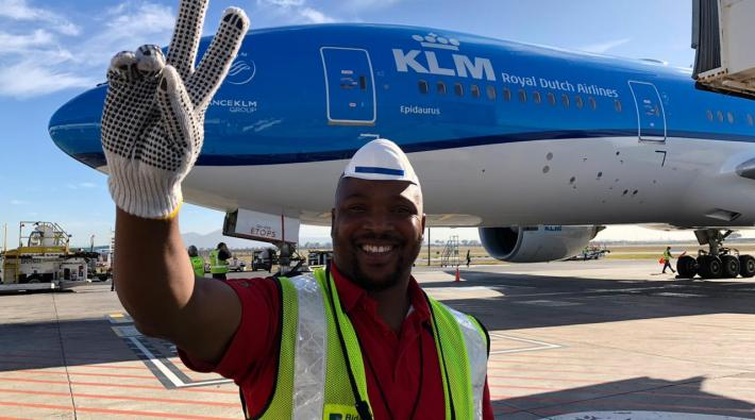 Zuid-Afrika KLM