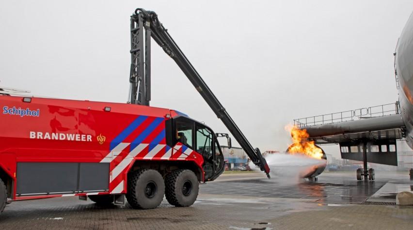 Blusreus Schiphol Brandweer