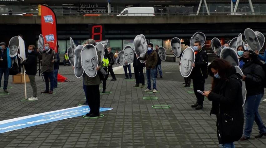 FNV Protest Schiphol