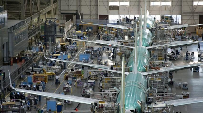 boeing 737, productie, fabriek