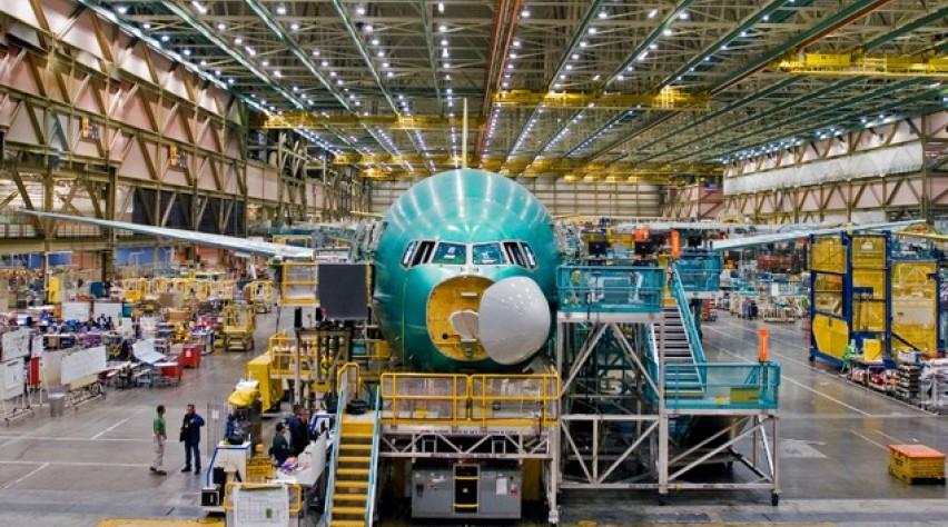 boeing, 777, fabriek