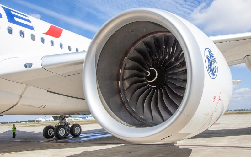 Air France engine
