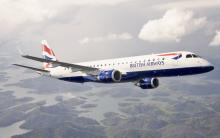 British Airways Embraer 190