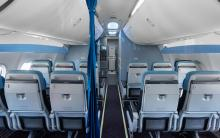 KLM cabine 737