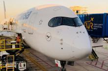Lufthansa A350 Newark