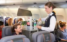 Lufthansa catering