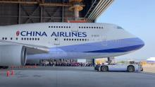 Afscheid China Airlines 747