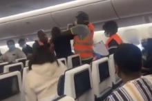 Agressieve passagier KLM