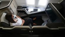 British Airways Boeing 777 nieuwe First Class