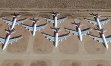 Qantas A380 Victorville