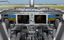 Boeing 737 MAX cockpit