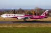 Qatar Airways Boeing 777 WK Maastricht