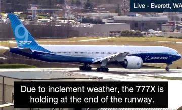 Boeing 777-9 livestream