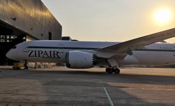 ZIPAIR Tokyo 787