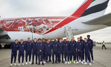 Emirates Airbus A380 Arsenal
