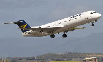 Alliance Airlines Fokker 100