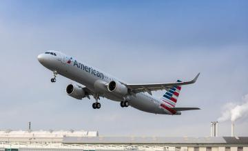 American Airlines A321neo Airbus