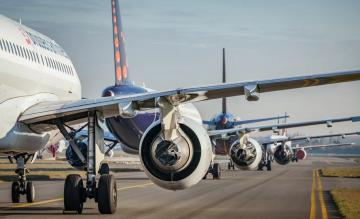 Brussels Airlines Vloot Geparkeerd