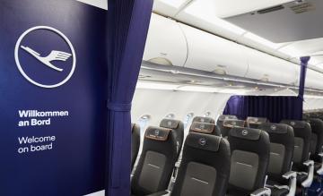 Lufthansa cabine