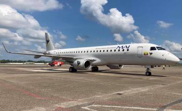Myanmar Airways International Embraer 190