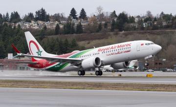Royal Air Maroc 737 MAX