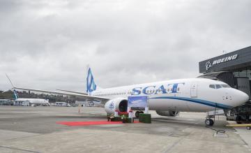 SCAT Airlines 737 MAX