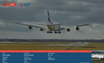 Prague Airport webcam