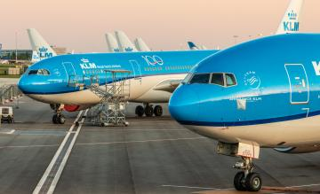 KLM stored