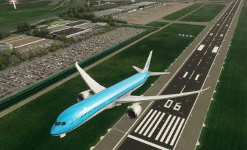 KLM 787-10 Flight Simulator