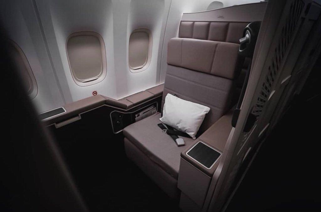Boeing 777 First Class