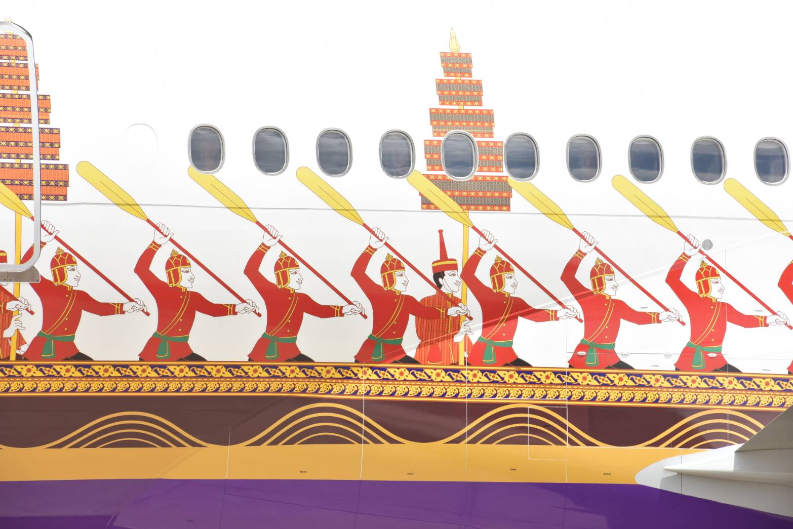 Thai 777 Royal Barge