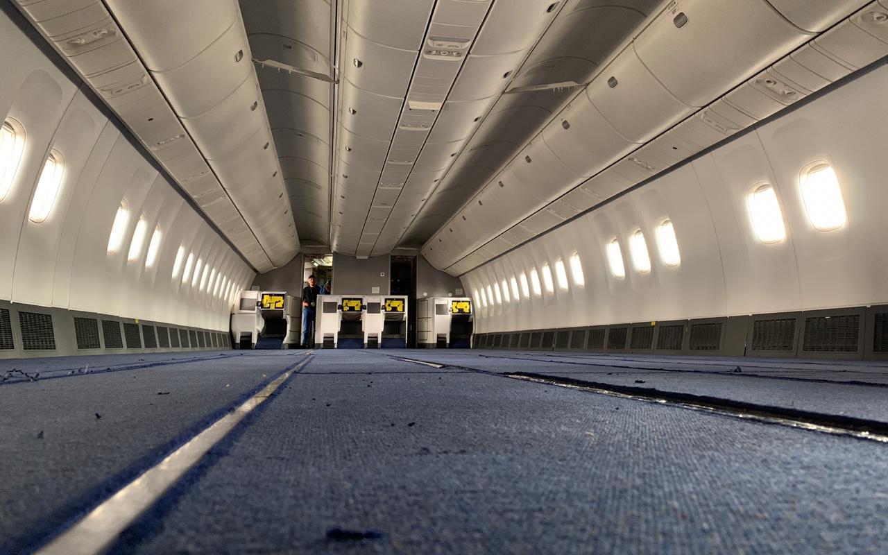 Air Astana 767 cargo